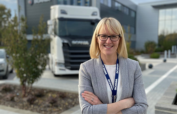 Scania UK appoints Clare Booth as HR director