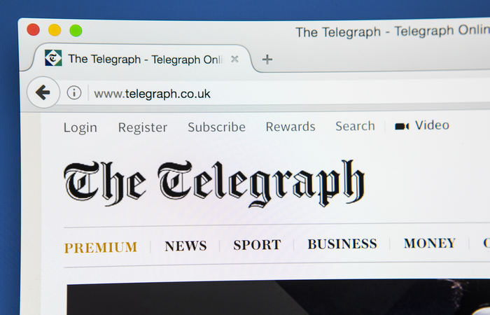 Telegraph Media Group reports 20.5% mean gender and 20.7% ethnicity pay gaps