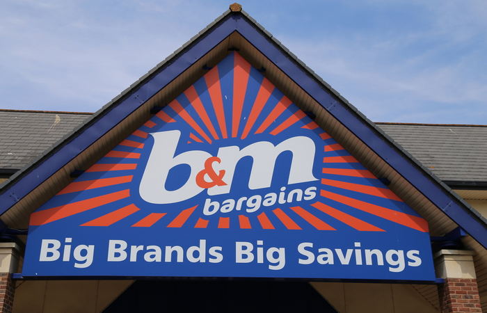 B&M to close stores on 1 January to give staff a day of rest